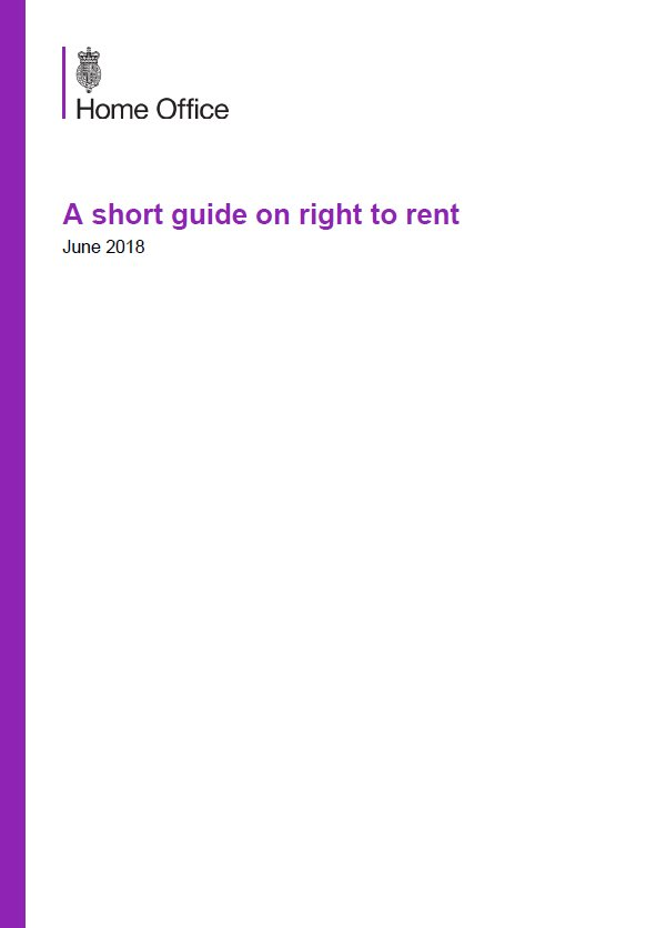 Embark Short Guide to Right to Rent issue