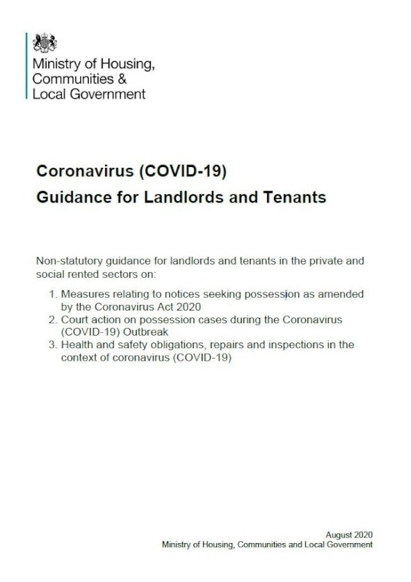 Embark Coronavirus (Covid 19)   A guide for landlords and tenants issue