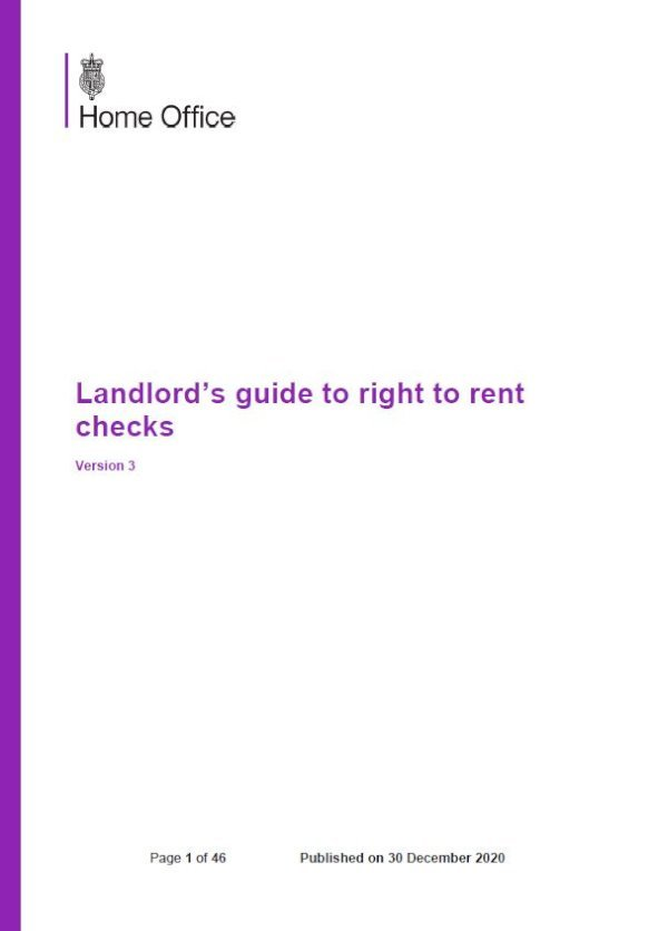 Embark Guide to Right to Rent Checks issue