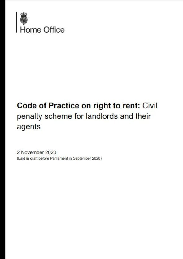 Embark Code of Practice on right to rent issue